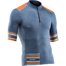 Northwave Epic Kortærmet cykeltrøje Herrer orange/blå